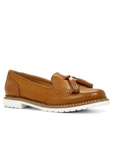 Aldo Püskül Detaylı Loafer Ayakkabı Taba